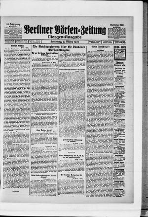 Berliner Börsen-Zeitung vom 06.03.1921