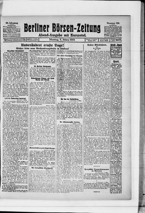 Berliner Börsen-Zeitung vom 07.03.1921