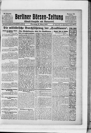 Berliner Börsen-Zeitung vom 08.03.1921