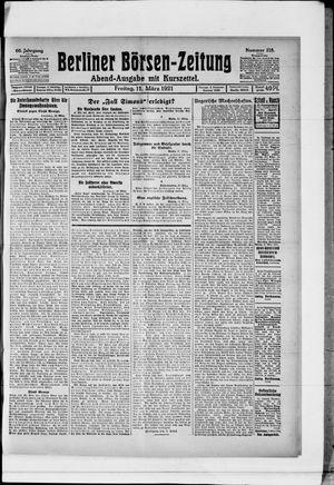Berliner Börsen-Zeitung vom 11.03.1921