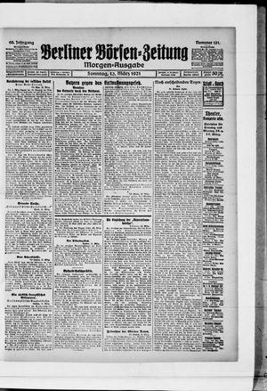 Berliner Börsen-Zeitung vom 13.03.1921