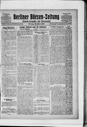 Berliner Börsen-Zeitung vom 14.03.1921