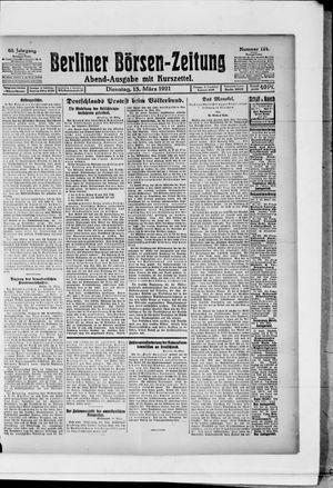 Berliner Börsen-Zeitung vom 15.03.1921