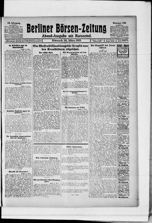 Berliner Börsen-Zeitung vom 16.03.1921