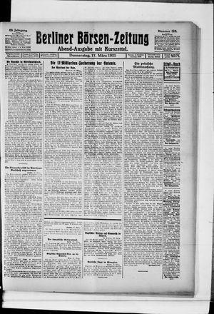 Berliner Börsen-Zeitung vom 17.03.1921