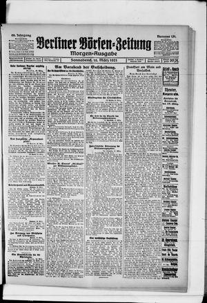 Berliner Börsen-Zeitung vom 19.03.1921