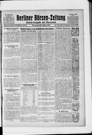 Berliner Börsen-Zeitung vom 22.03.1921