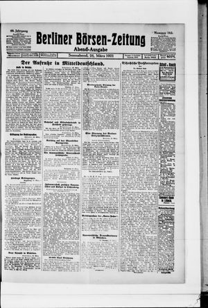 Berliner Börsen-Zeitung vom 26.03.1921