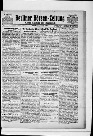 Berliner Börsen-Zeitung vom 01.04.1921