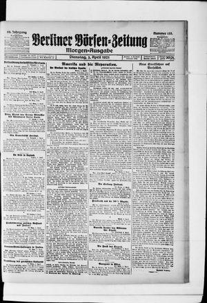 Berliner Börsen-Zeitung vom 05.04.1921
