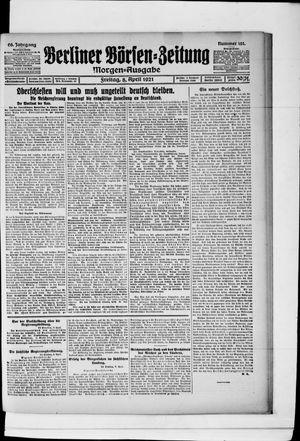 Berliner Börsen-Zeitung vom 08.04.1921