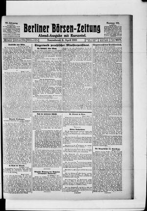 Berliner Börsen-Zeitung vom 09.04.1921