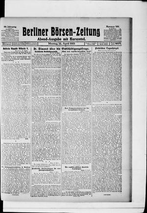 Berliner Börsen-Zeitung vom 11.04.1921