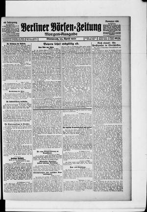 Berliner Börsen-Zeitung vom 13.04.1921