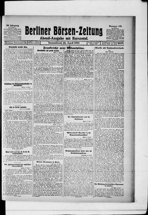 Berliner Börsen-Zeitung vom 16.04.1921