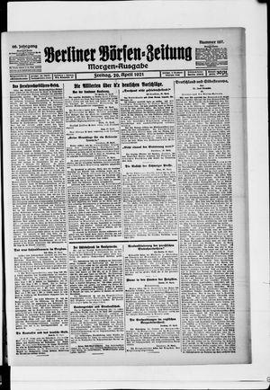 Berliner Börsen-Zeitung vom 29.04.1921