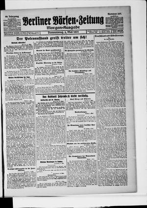 Berliner Börsen-Zeitung vom 05.05.1921