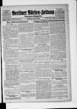 Berliner Börsen-Zeitung vom 06.05.1921