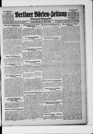 Berliner Börsen-Zeitung on May 14, 1921