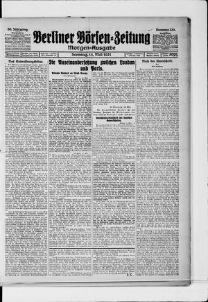 Berliner Börsen-Zeitung vom 15.05.1921