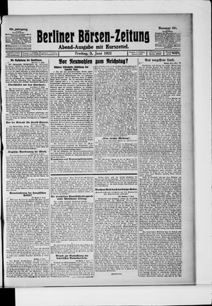 Berliner Börsen-Zeitung vom 03.06.1921