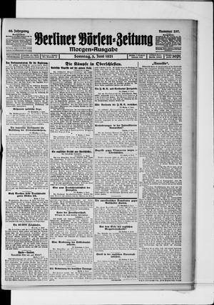 Berliner Börsen-Zeitung vom 05.06.1921