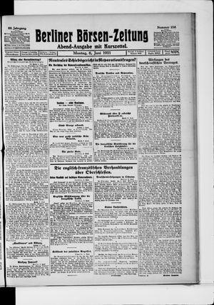 Berliner Börsen-Zeitung vom 06.06.1921