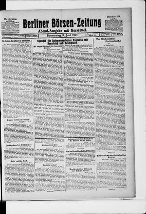 Berliner Börsen-Zeitung vom 09.06.1921
