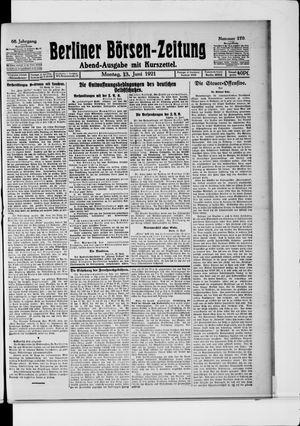Berliner Börsen-Zeitung vom 13.06.1921