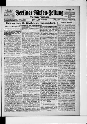 Berliner Börsen-Zeitung vom 17.06.1921