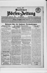 Berliner Börsen-Zeitung (16.12.1922)