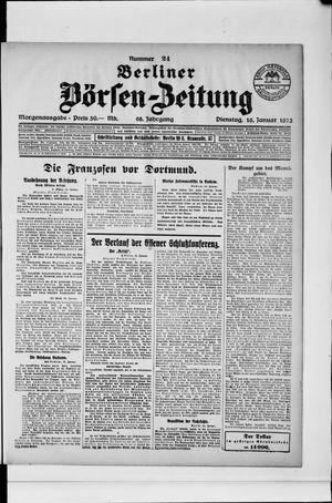 Berliner Börsen-Zeitung vom 16.01.1923