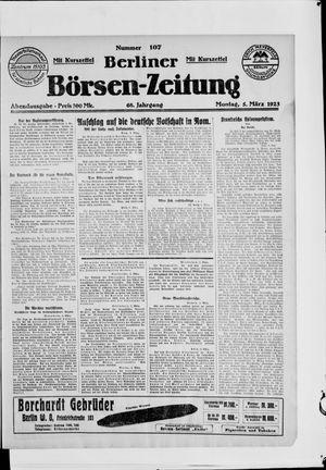 Berliner Börsen-Zeitung vom 05.03.1923