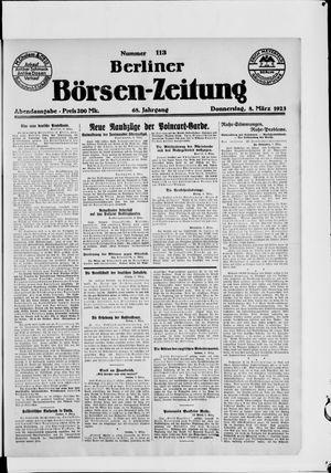 Berliner Börsen-Zeitung on Mar 8, 1923