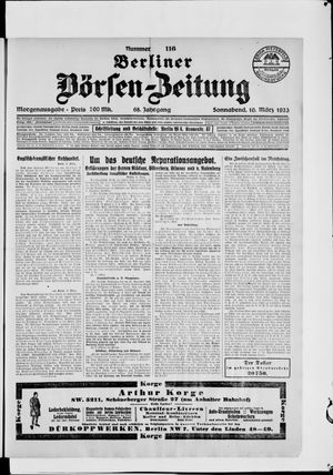 Berliner Börsen-Zeitung vom 10.03.1923