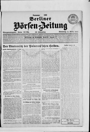 Berliner Börsen-Zeitung vom 13.03.1923
