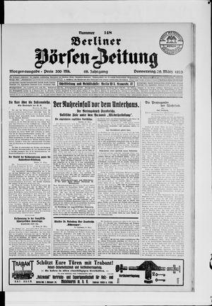 Berliner Börsen-Zeitung vom 29.03.1923