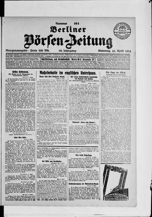 Berliner Börsen-Zeitung vom 10.04.1923