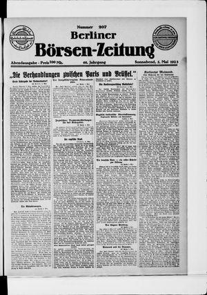 Berliner Börsen-Zeitung vom 05.05.1923
