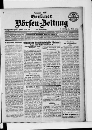 Berliner Börsen-Zeitung vom 06.05.1923