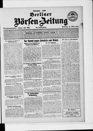 Berliner Börsen-Zeitung vom 18.05.1923