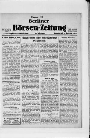 Berliner Börsen-Zeitung vom 02.02.1924
