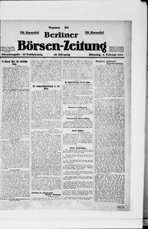 Berliner Börsen-Zeitung vom 05.02.1924