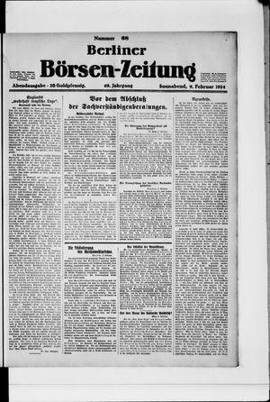 Berliner Börsen-Zeitung vom 09.02.1924