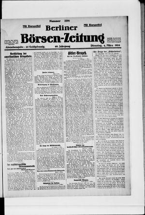 Berliner Börsen-Zeitung vom 04.03.1924