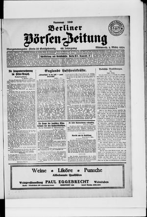 Berliner Börsen-Zeitung vom 05.03.1924