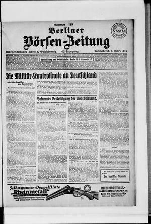 Berliner Börsen-Zeitung vom 08.03.1924