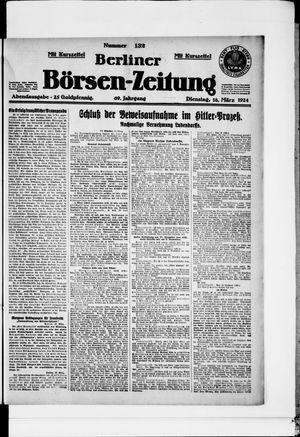 Berliner Börsen-Zeitung vom 18.03.1924