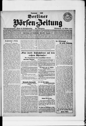 Berliner Börsen-Zeitung vom 19.03.1924