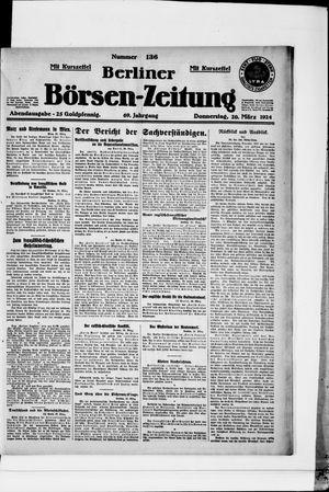 Berliner Börsen-Zeitung vom 20.03.1924